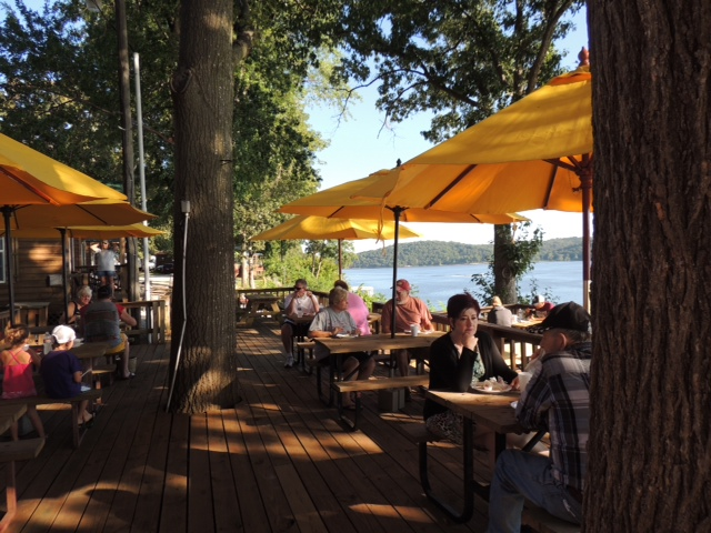 Lee S Grand Lake Resort Grove Oklahoma Lakefront Dining Restaurant By Boat